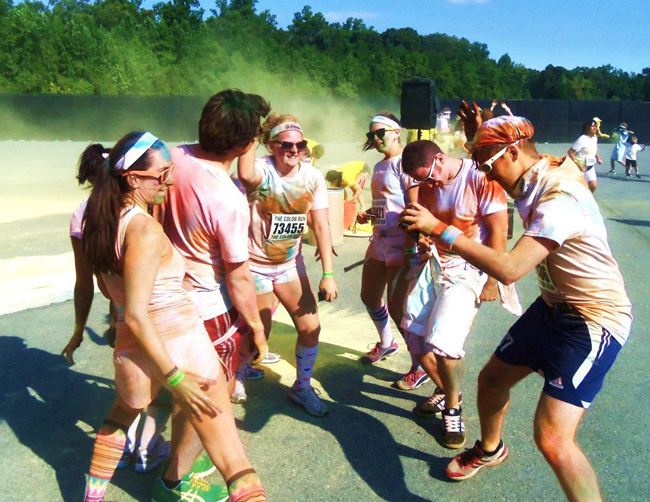 Dance Partay1 Do a Color Run   Bucket List #8 Athletics