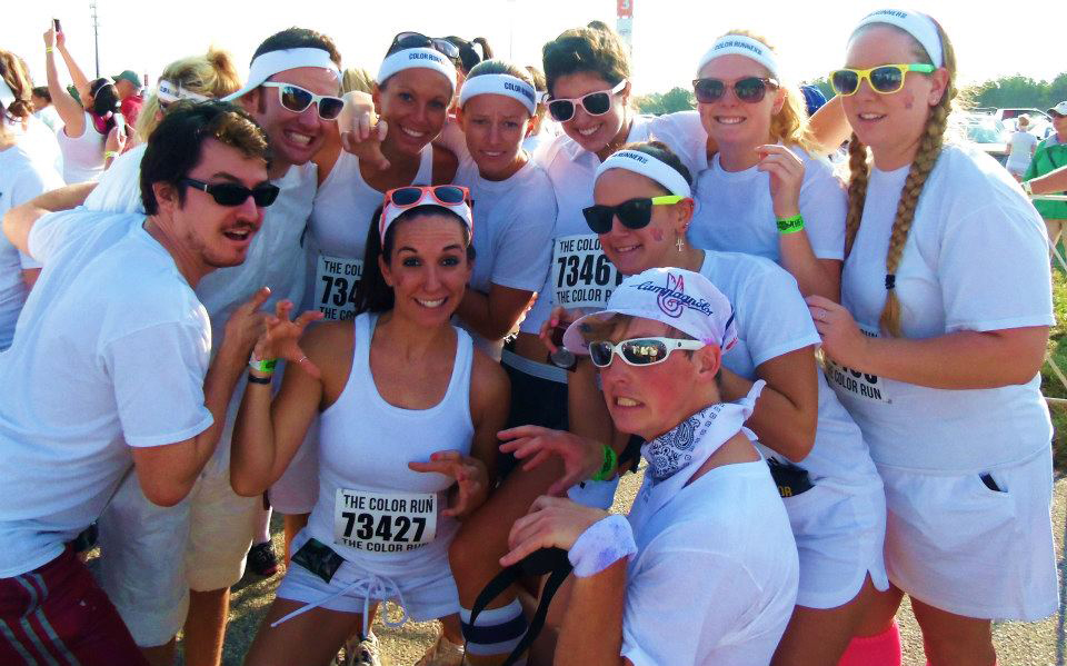 Team Kitties Richmond Color Run