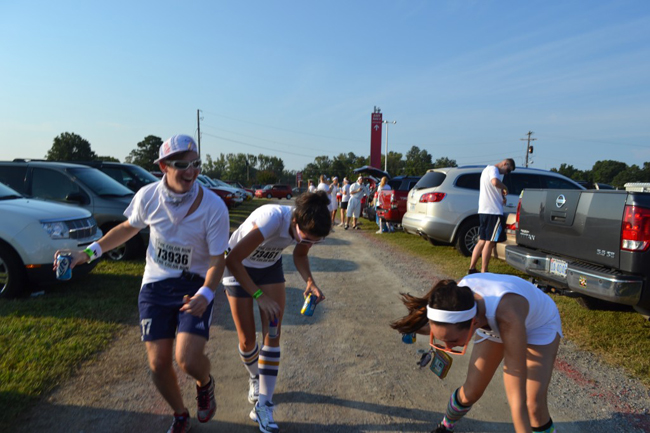 kick Do a Color Run   Bucket List #8 Athletics
