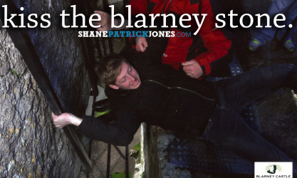 Bucket List Kiss the Blarney Stone