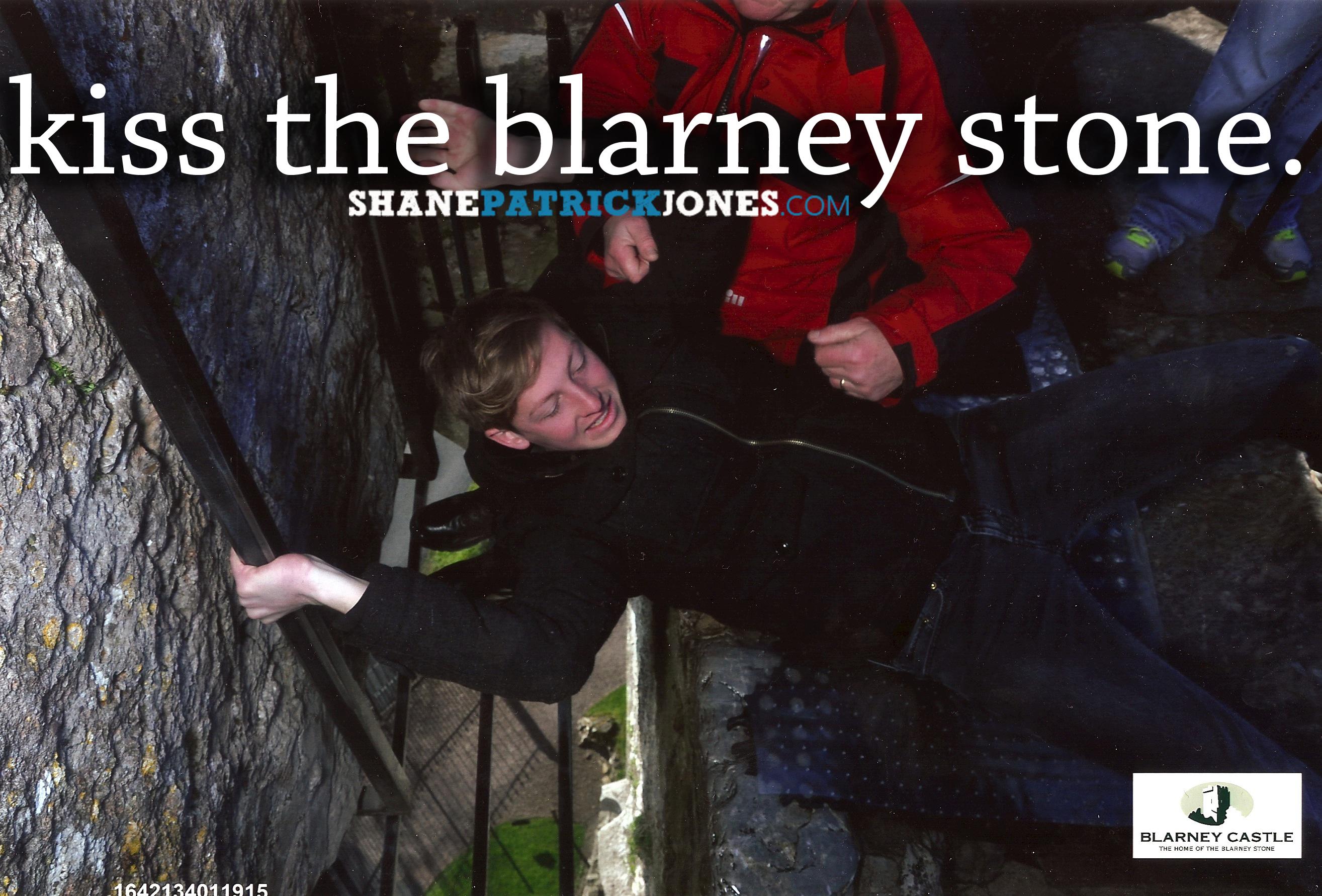Bucket List Kiss the Blarney Stone