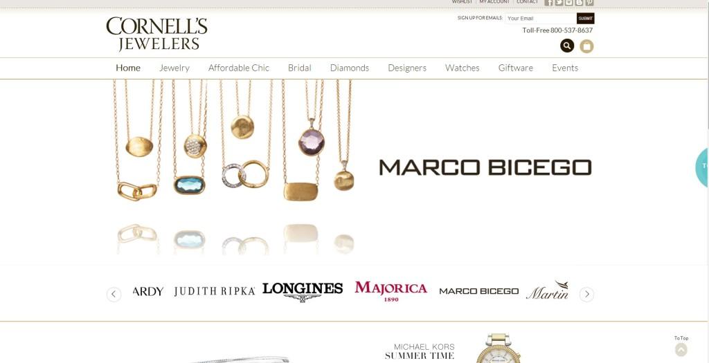 Cornells Jewelers Home
