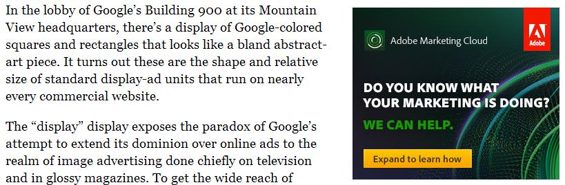 Adobe Google Ads